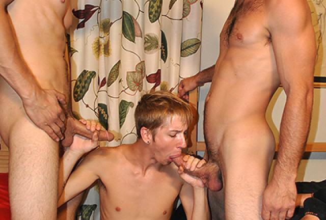 Joey Landers, Joe Parker and Jared King